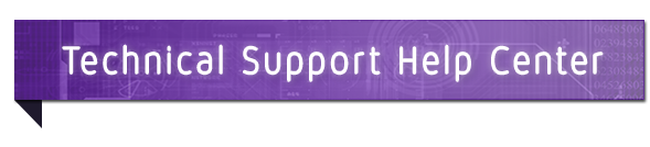 Technical Support Help Center