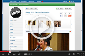 Vimeo Video: Campus-Wide Elections